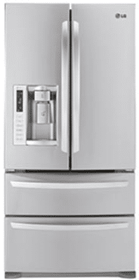 lg double drawer french door refrigerator LSMX211