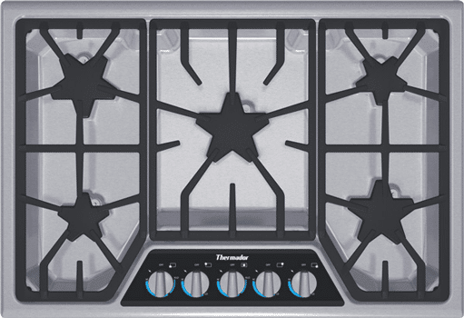 thermador 30 inch gas cooktop SGSX305FS