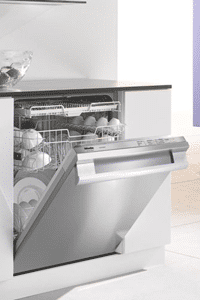 miele stainless dishwasher installed G4286SCSF