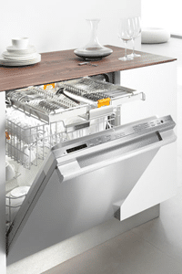 miele stainless dishwasher installed G5675SCSF