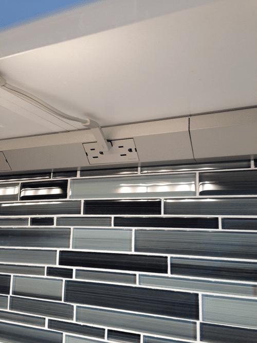 cabinet fluorescent lighting legrand. Custom-tile-backsplash-w-legrand-under-cabinet-2 Cabinet Fluorescent Lighting Legrand