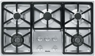 miele 5 burner gas cooktop KM3474G