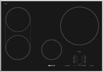 jennair 30 inch induction cooktop JIC4430XS