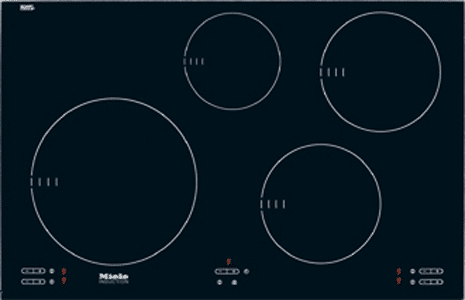 "miele 30"" induction cooktop KM5753"