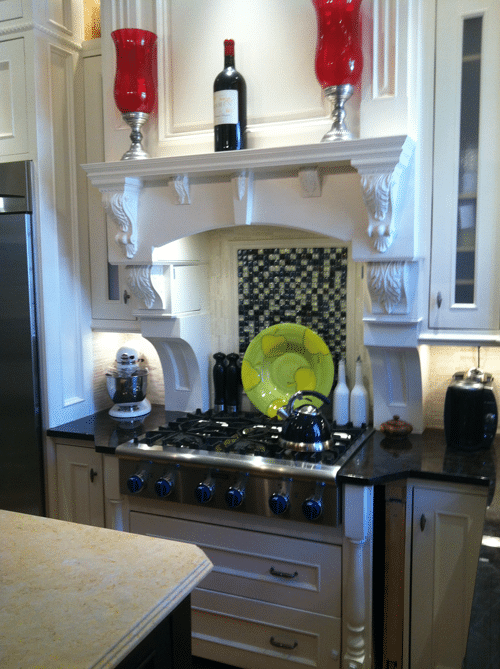 Makeover Monday Thermador Kitchen Transitional Lighting And Hidden Doors