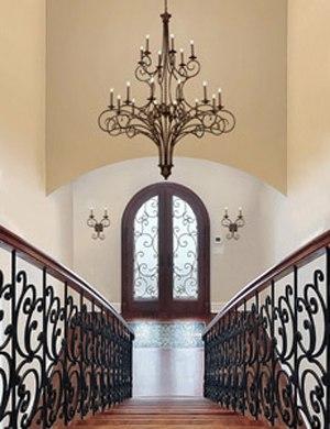 foyer lighting style