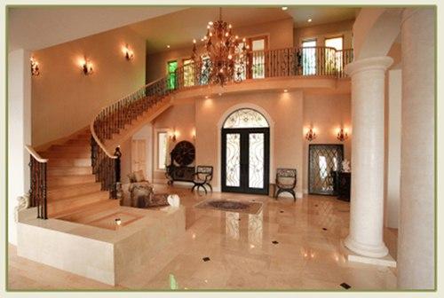 LED foyer lighting