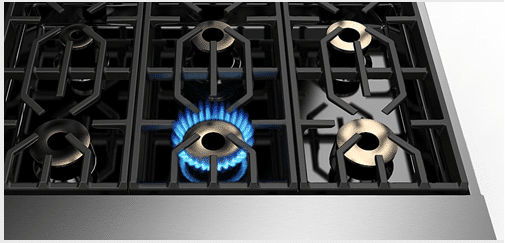 viking-7-series-range-pedestal-burners-on
