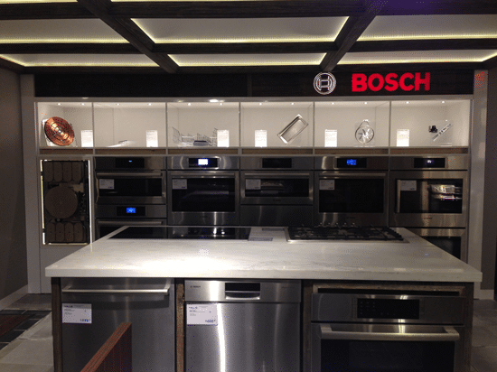 Bosch Benchmark Display Kitchen Yale Appliance Boston Ma Pictures