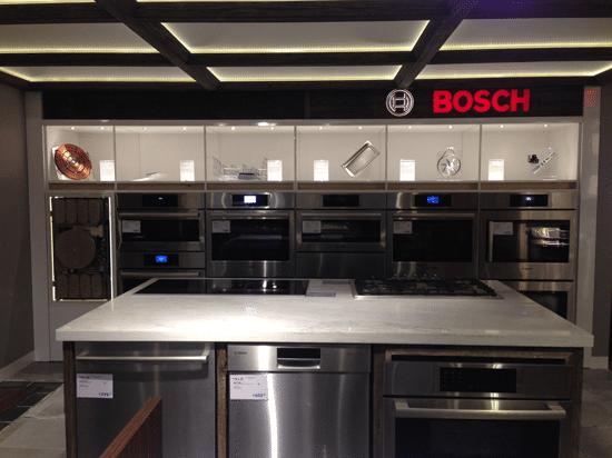 Delightful Bosch Benchmark Display Kitchen Yale Appliance Boston Ma