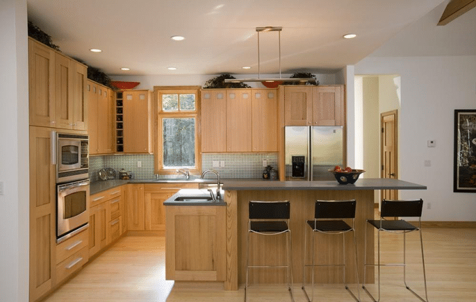 kitchen example track recessed 6