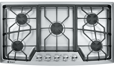 GE Monogram 36 Gas Cooktop ZGU385NSMSS