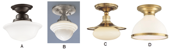 How to choose lighting for your colonial style kitchen - How to get your kitchen ceiling lights right ...