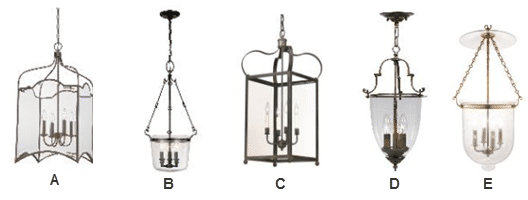 colonial-style-hanging-lanterns-lighting