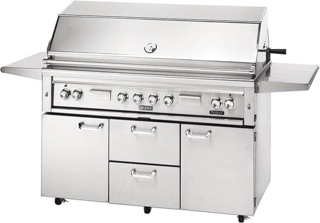 lynx 54 inch bbq grill L54PSFR