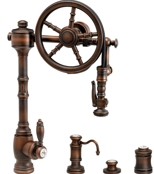 Antique Copper Faucet-Waterstone
