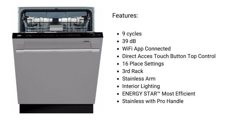 BEKO-DDT39432X-Dishwasher
