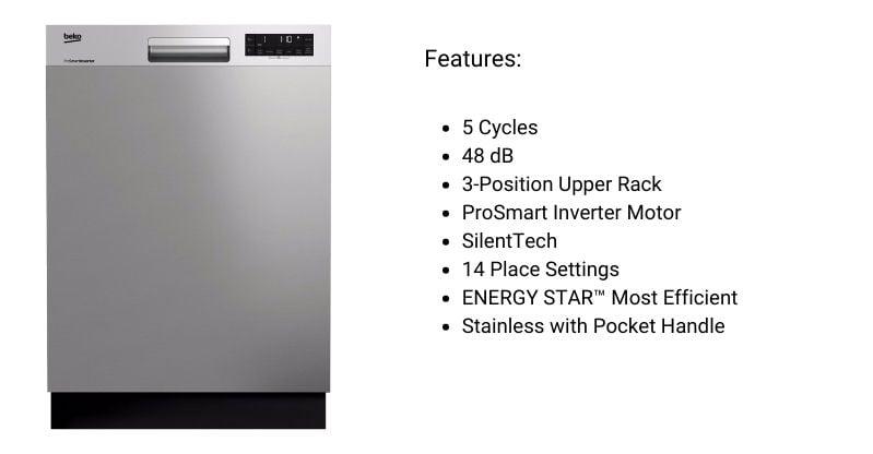 BEKO-DUT25401X-Dishwasher