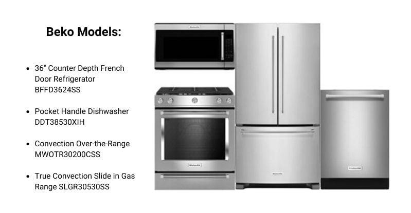 Beko Appliance Package