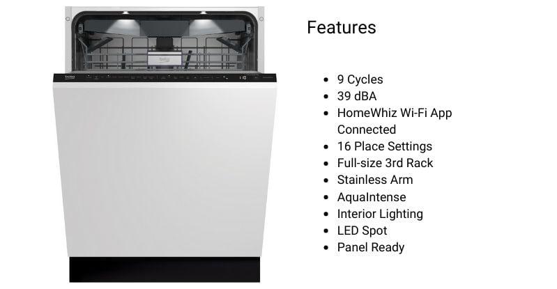 Beko Panel-Ready Dishwasher-1
