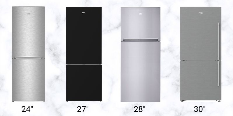 The Best 30 Inch Counter Depth Refrigerators Reviews Ratings Prices