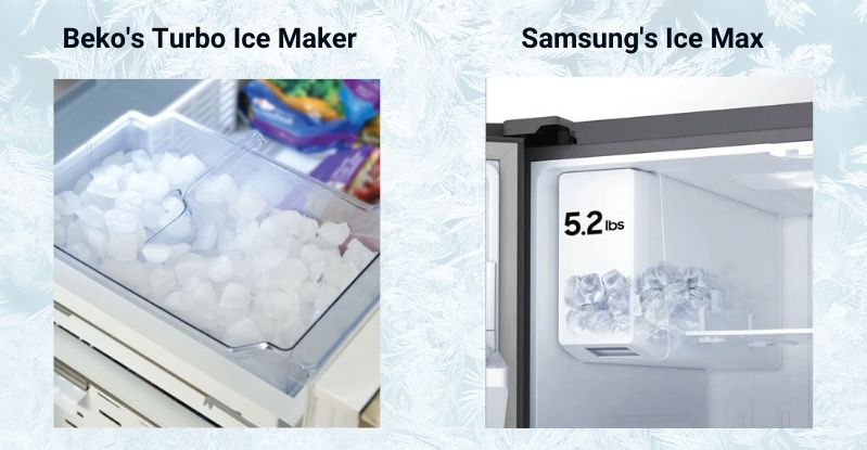 Beko Vs. Samsung Ice Makers