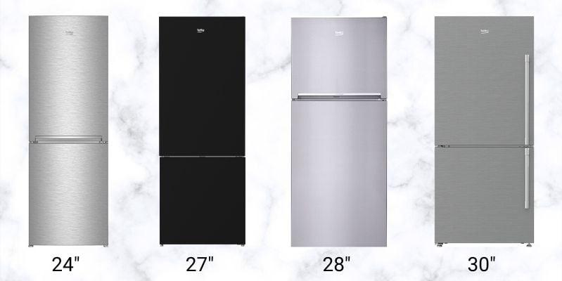 Beko-Refrigerator-Sizes