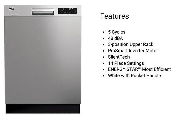 Beko-dishwashers-DUT25401X-