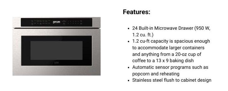 Beko-microwave-drawer