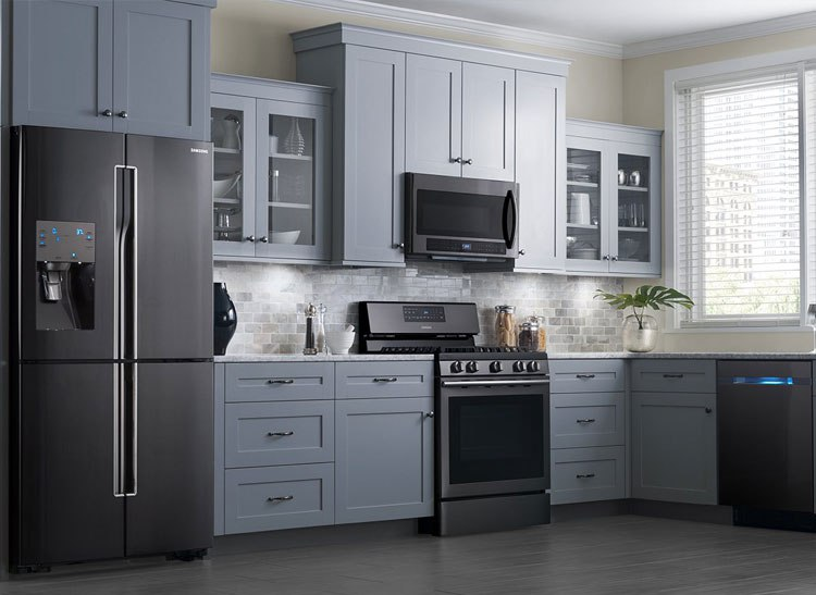 Black Stainless Steel Kitchen Packages