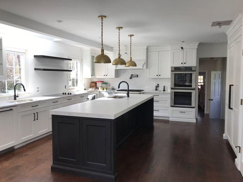 Black-White-Gray-Kitchen
