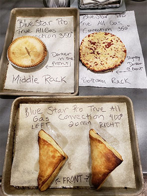 BlueStar Convection Oven Test Results