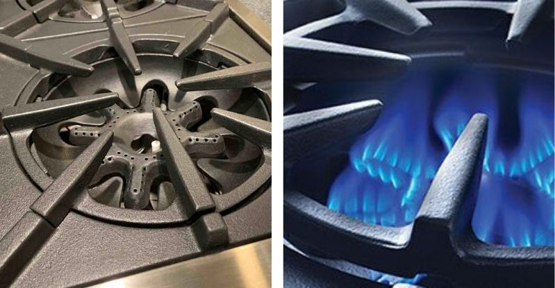 BlueStar Pro Range Open Burners