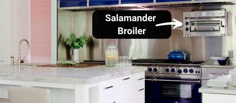 BlueStar Professional Range Salamander Broiler