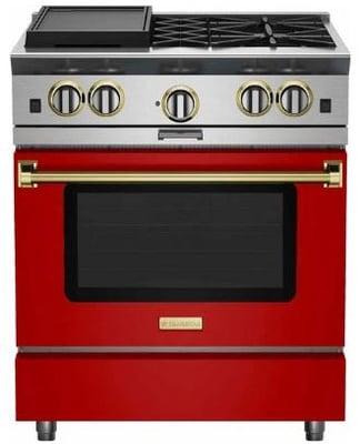 BlueStar-Platinum-30-inch-range-in-red