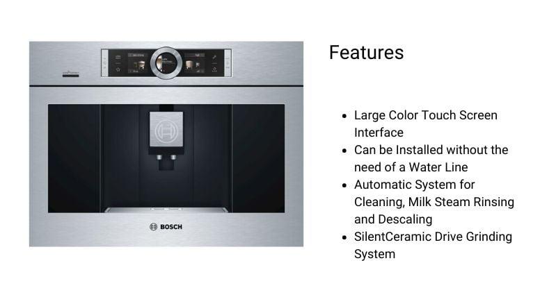 Bosch Built-In Coffee Machine