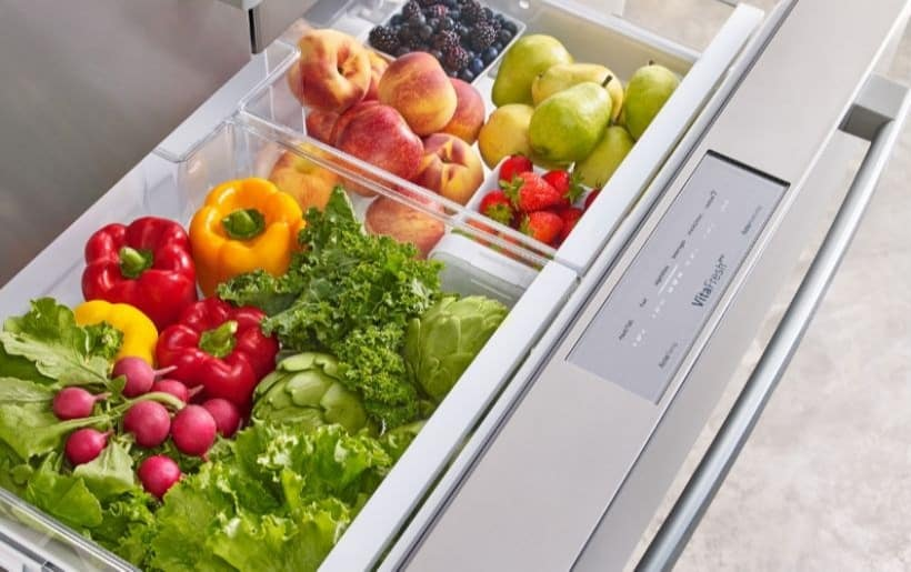 Bosch Counter Depth Refrigerator Second Drawer