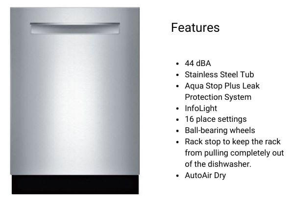 Bosch Dishwasher SHP865ZP5N