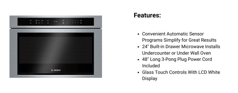 Bosch Microwave Drawer