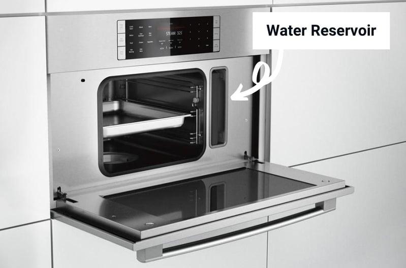 Bosch Non-Plumbed Steam Oven & Water Reservoir
