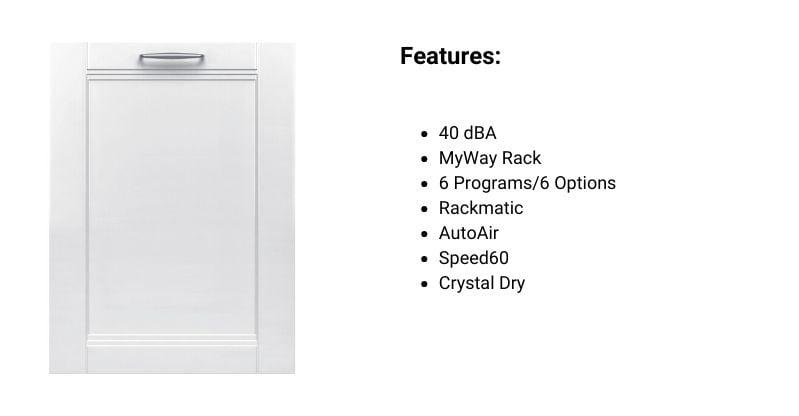 Bosch Panel-Ready Dishwasher