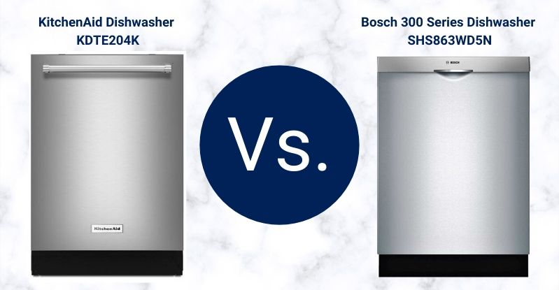 Bosch VS. KitchenAid Dishwashers