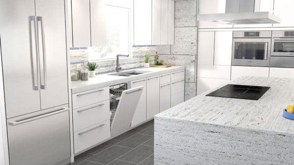 Bosch-Kitchen-Featuring-Custom-Panel-Ready-Dishwasher