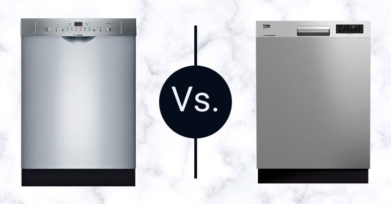 Bosch-Vs-Beko-Dishwashers