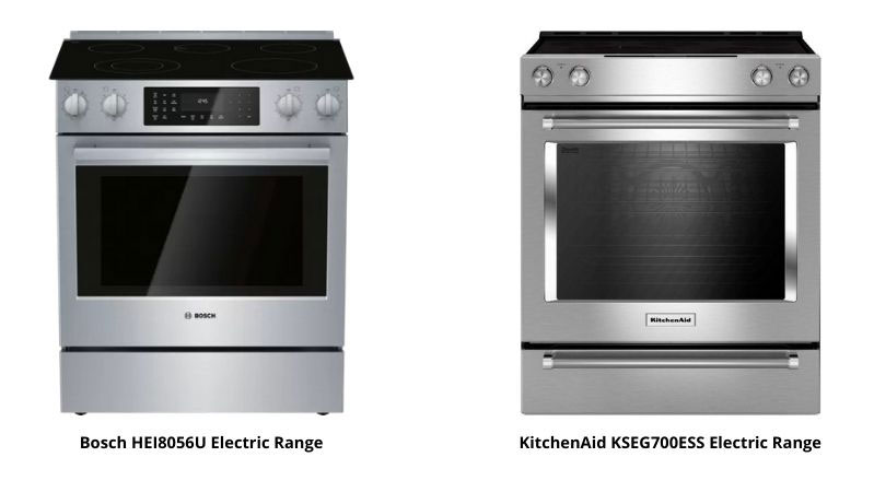 Bosch-and-KitchenAid-Slide-in-Electric-Ranges