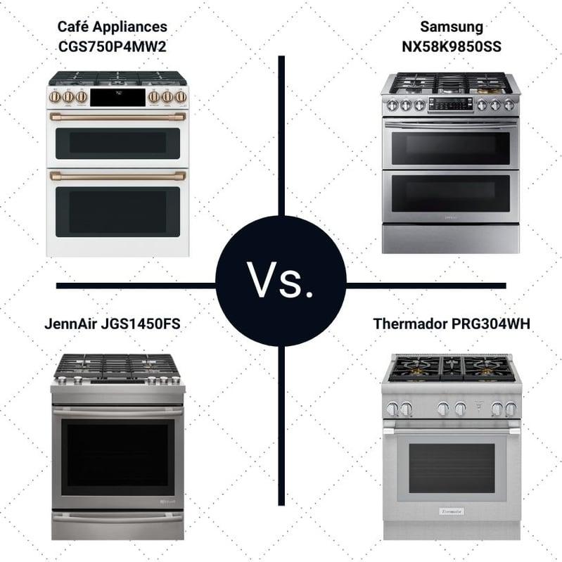 Café Appliances CGS750P4MW2 Vs Double Oven Ranges