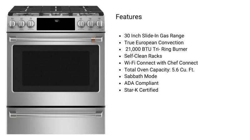Cafe Appliances CGS700P2MS1