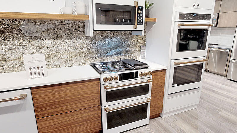 Cafe-Appliances-Slide-In-Range-in-White-and-Copper