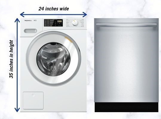 Compact Washer and Dishwasher