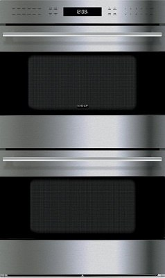 Wolf E Series Transitional Double Wall Oven